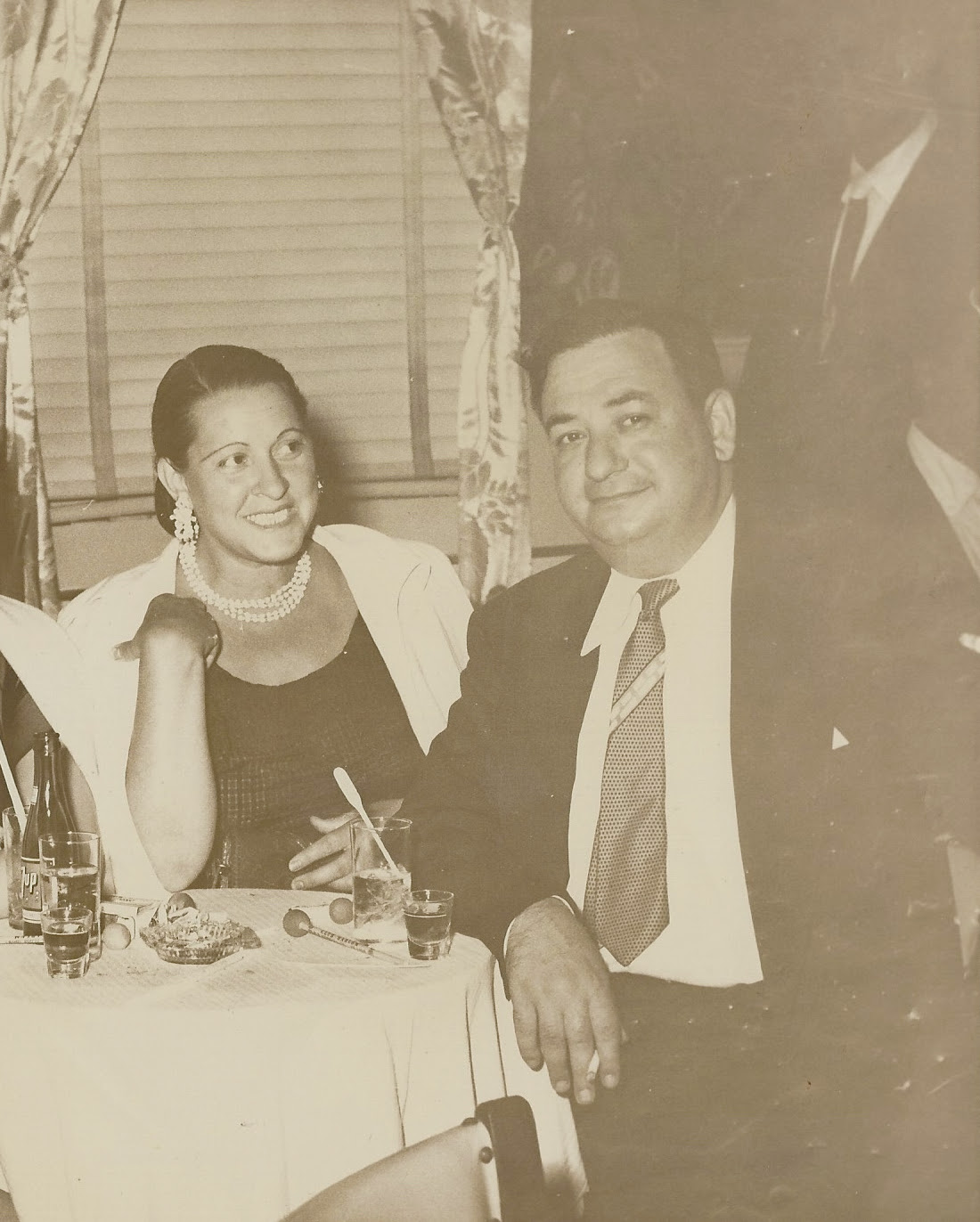 The author's grandfather Russ Shorto and his wife Mary, circa 1955, in Atlantic City.