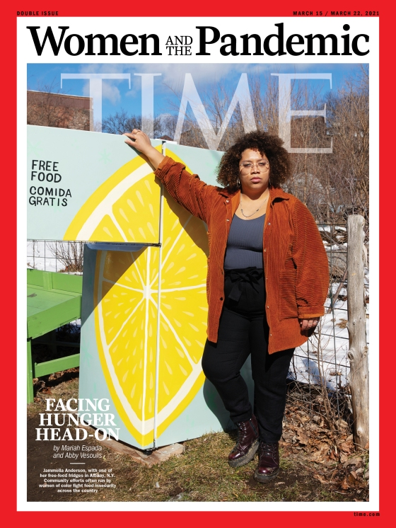 Women and the Pandemic Food Insecurity Time Magazine cover