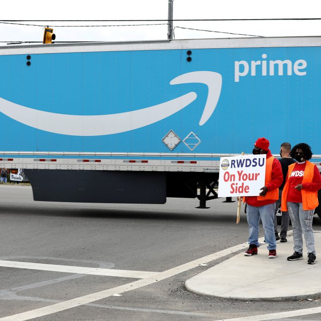 Why Amazon's Alabama Union Vote Could Spur Labor Movement