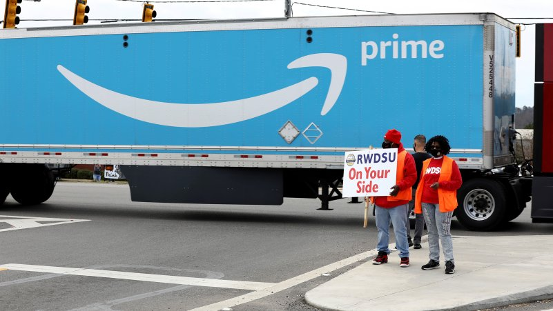 Why Amazon's Alabama Union Vote Could Spur Labor Movement