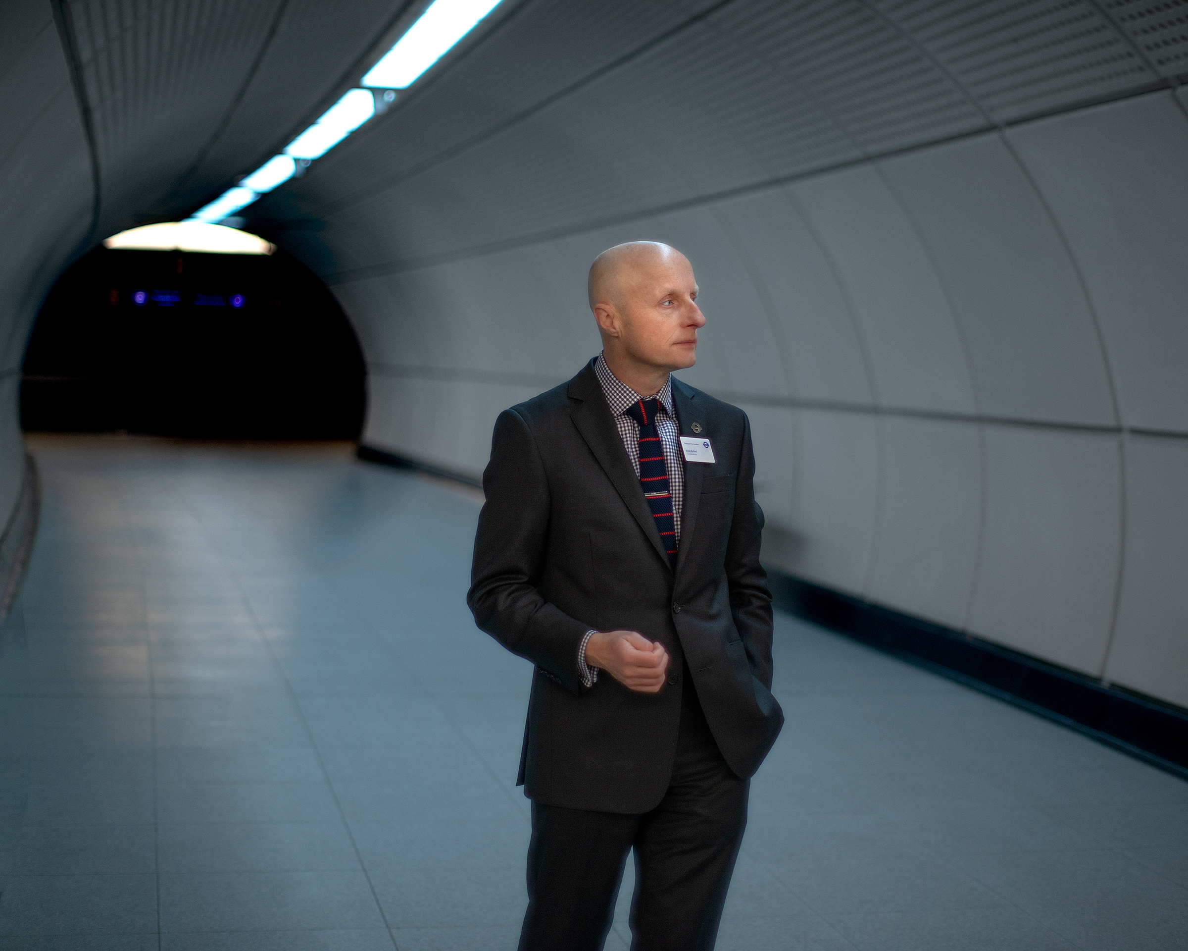 Byford's first job was as a station foreman for Transport for London; now he's the commissioner