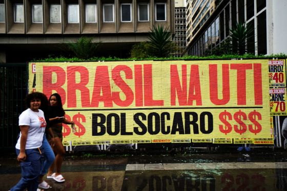 Bolsonaro Protest Sign