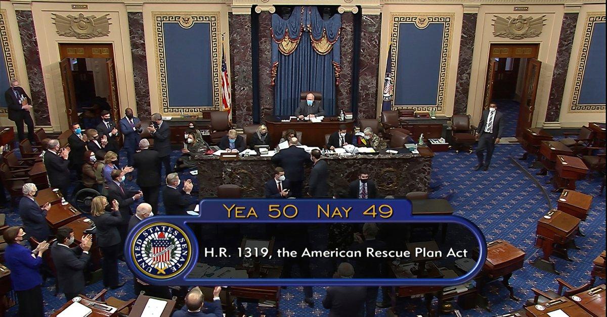 Senate Passes $1.9 Trillion COVID-19 Relief Bill thumbnail