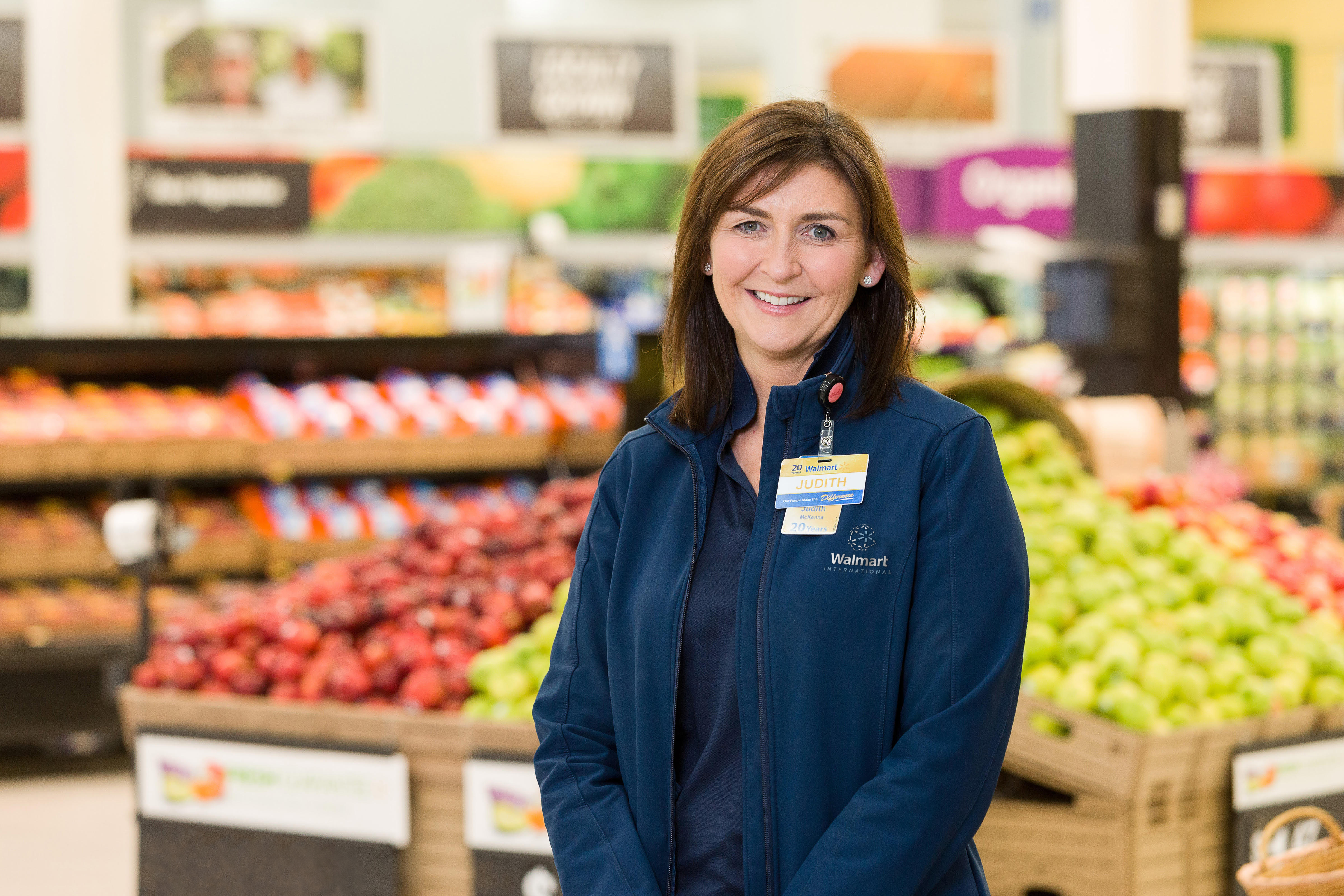 Judith McKenna, CEO of Walmart International