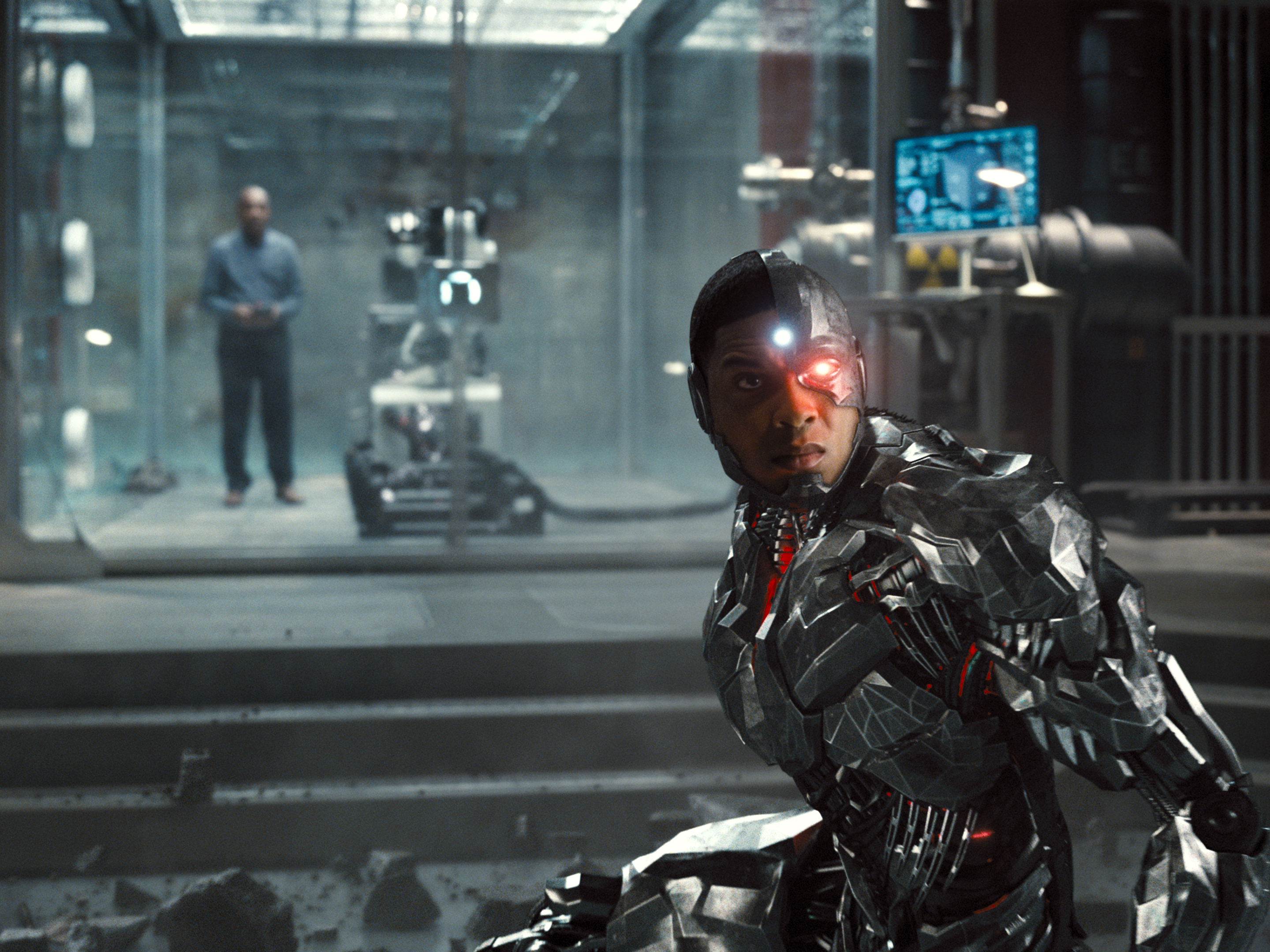 Ray Fisher in Zack Snyder's cut of Justice League