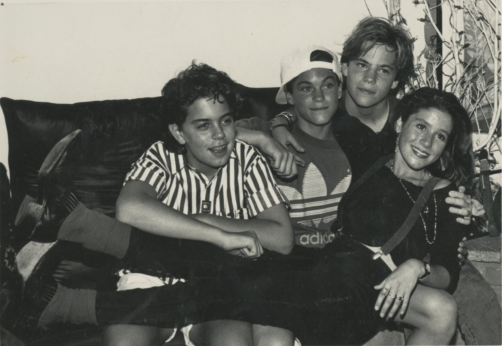 Alexander Polinsky, Stephen Dorff, Brian Austin Green and Soleil Moon Frye