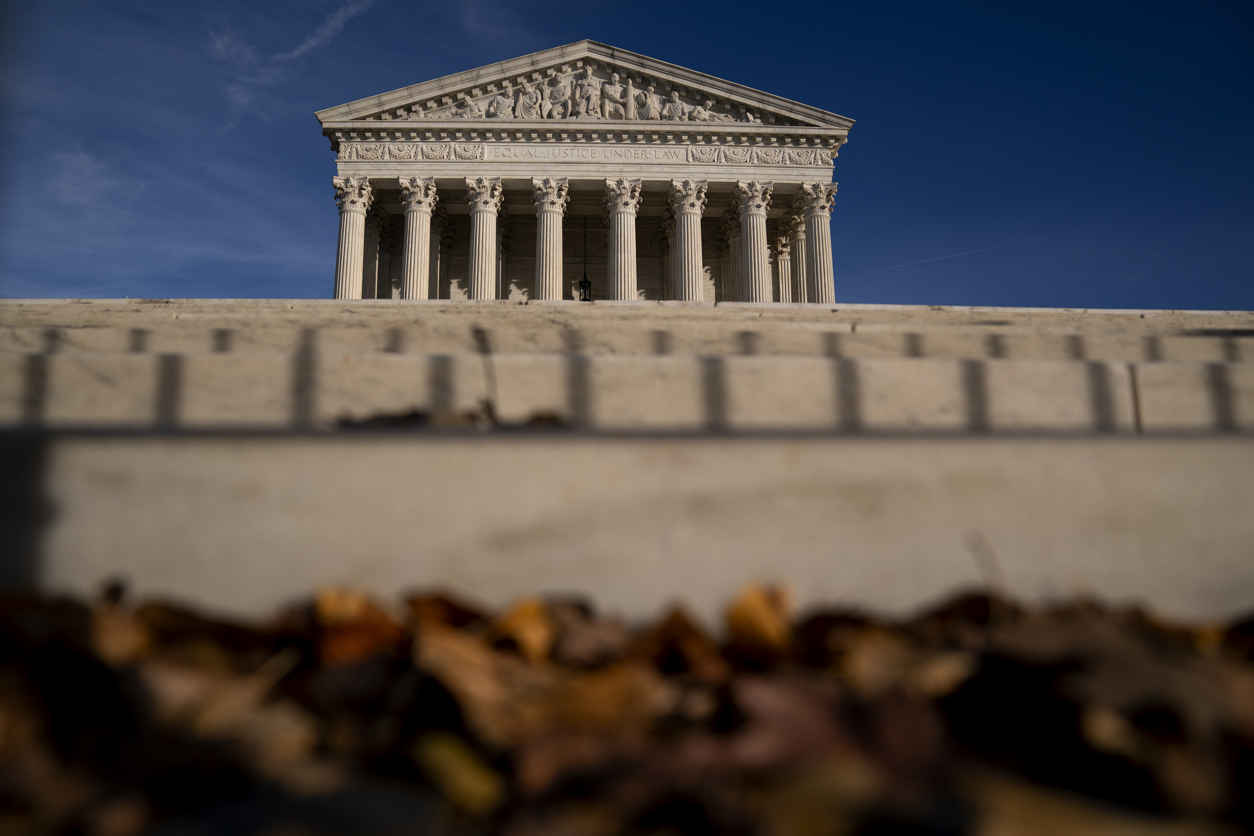 The U.S. Supreme Court building pictured on Dec. 11, 2020 in Washington, D.C.