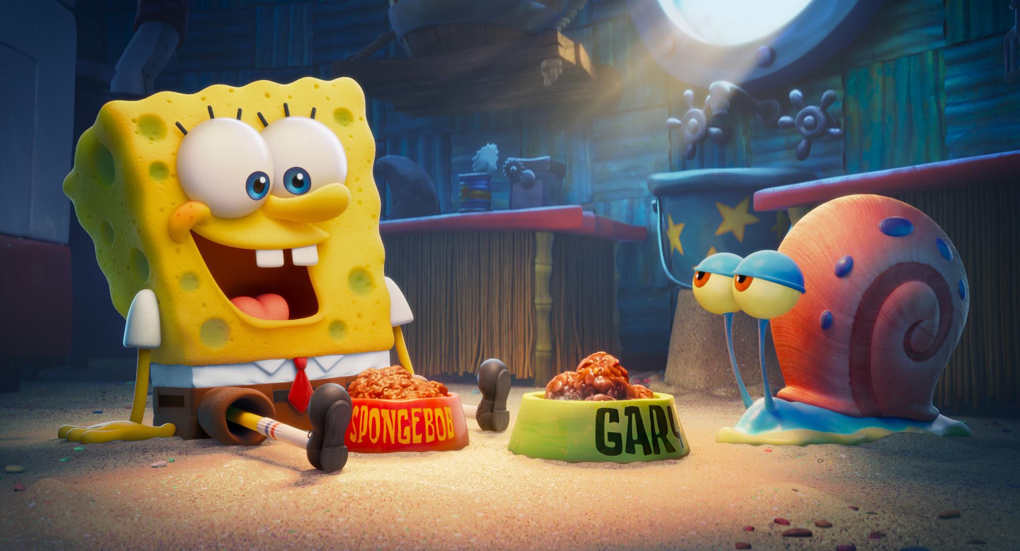 A still from Sponge on the Run