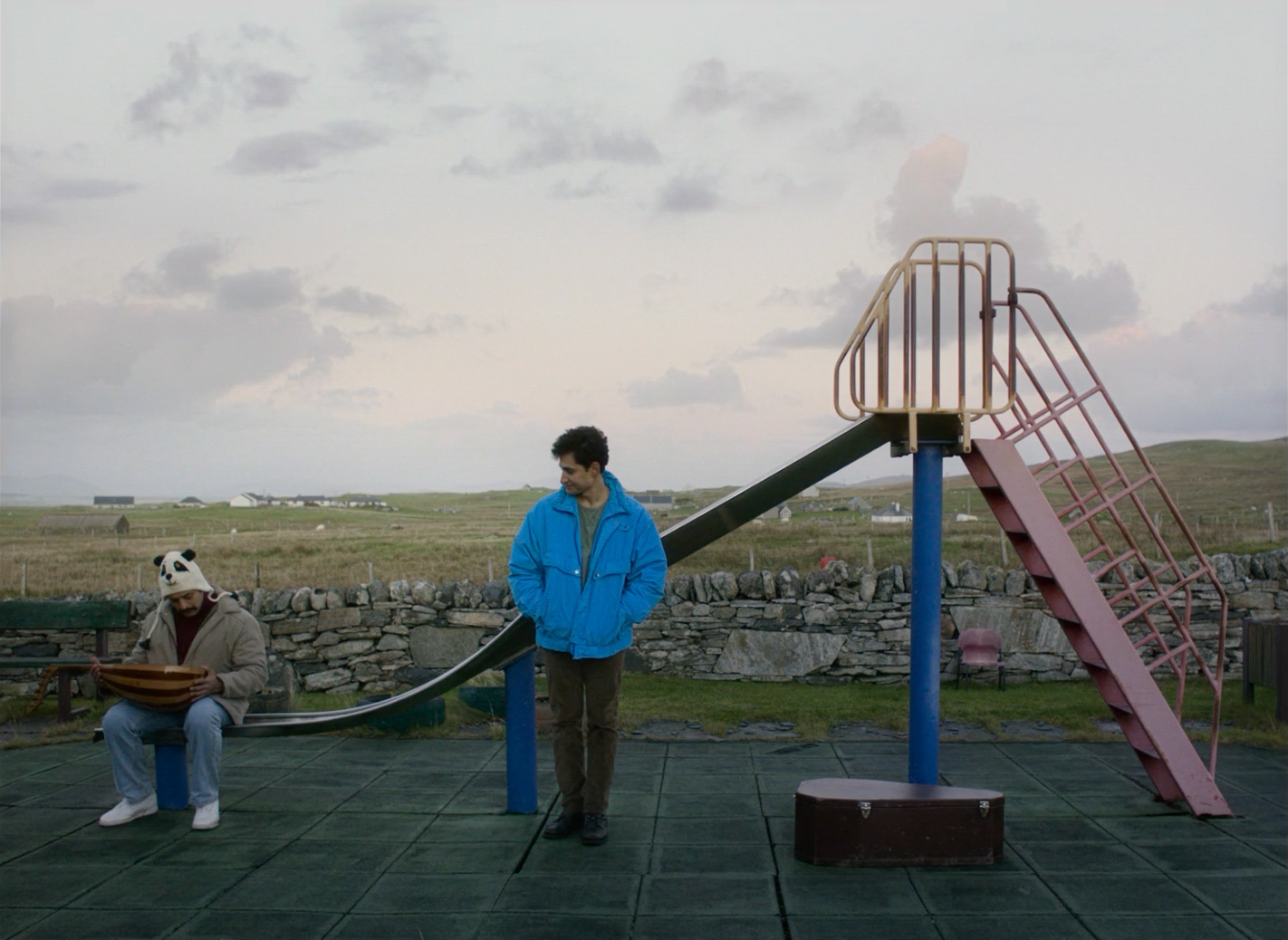 Vikash Bhai and Amir El-Masry find connection on a remote Scottish isle