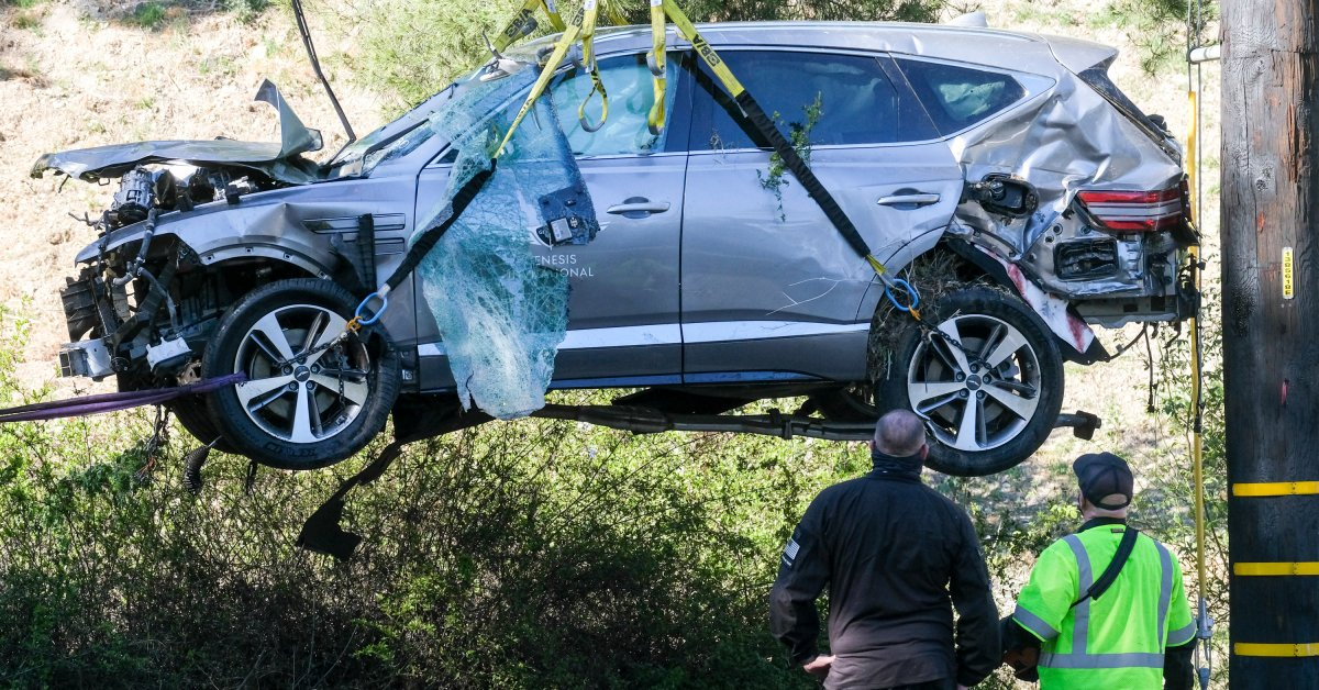 Tiger Woods Was Driving More Than 80 mph When He Crashed His SUV thumbnail