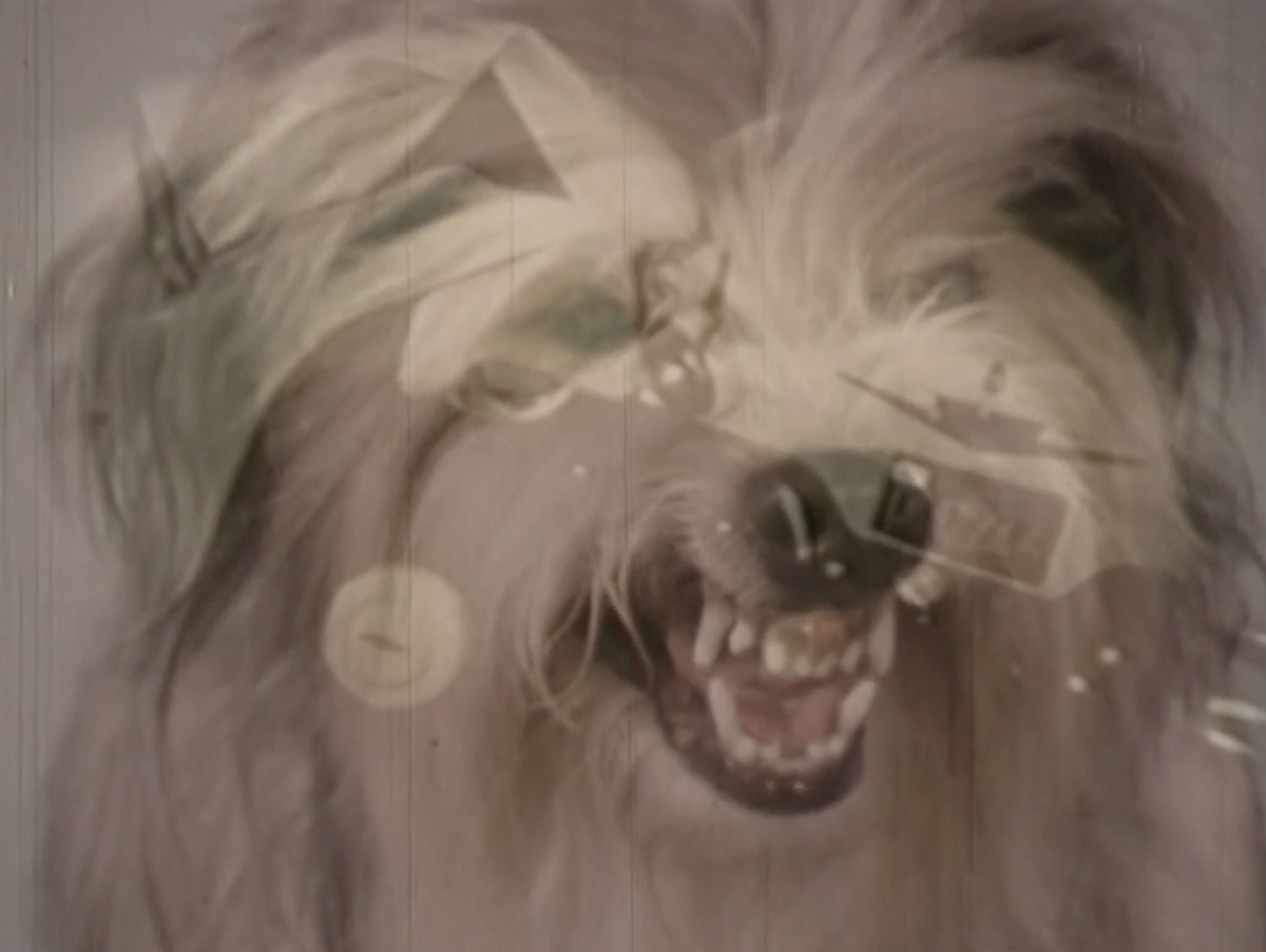 A still from the episode  Report on the Canine Auto-Mechanical Soviet Threat