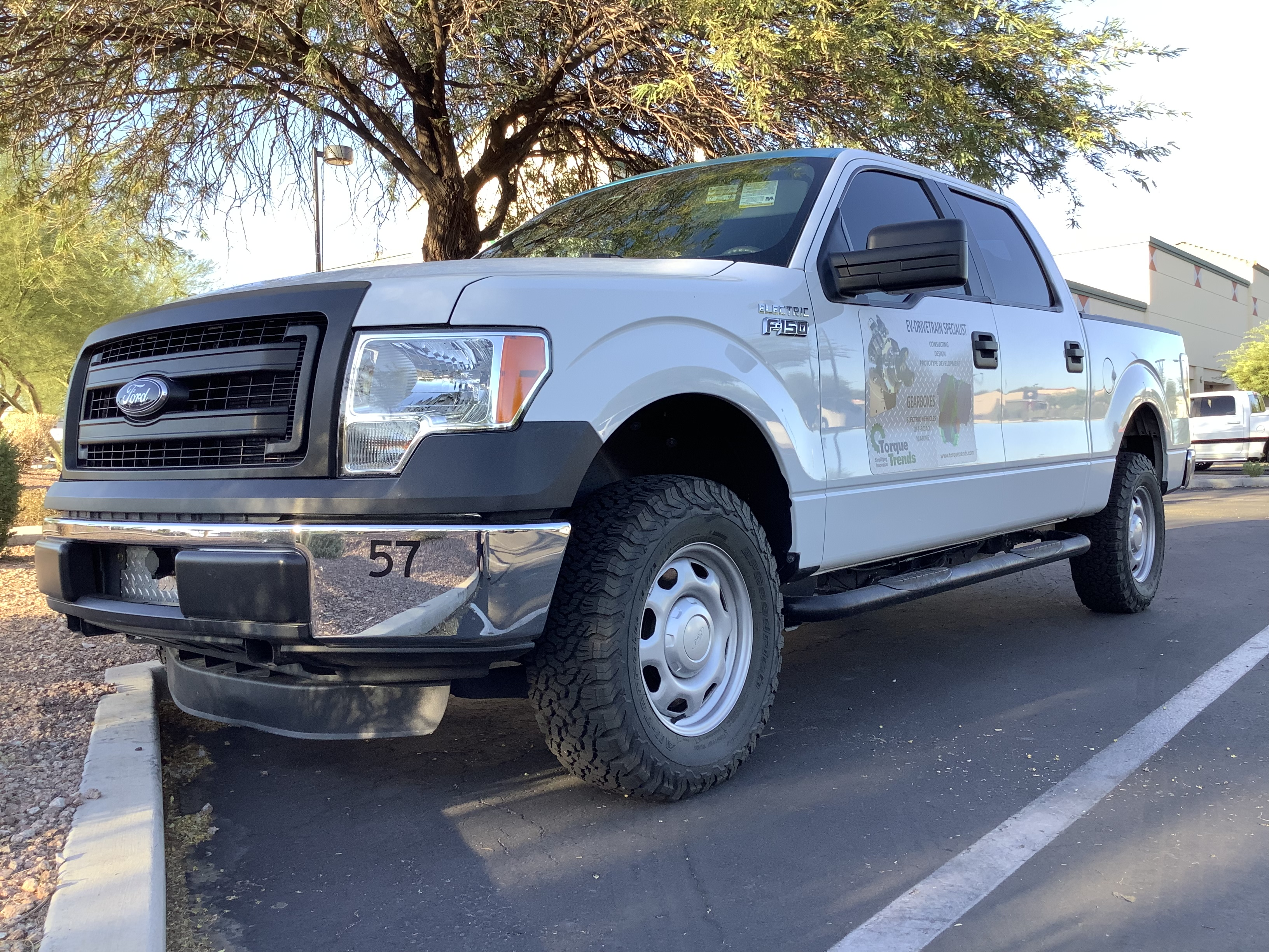 Mitchell Yow's fully electric Ford F-150