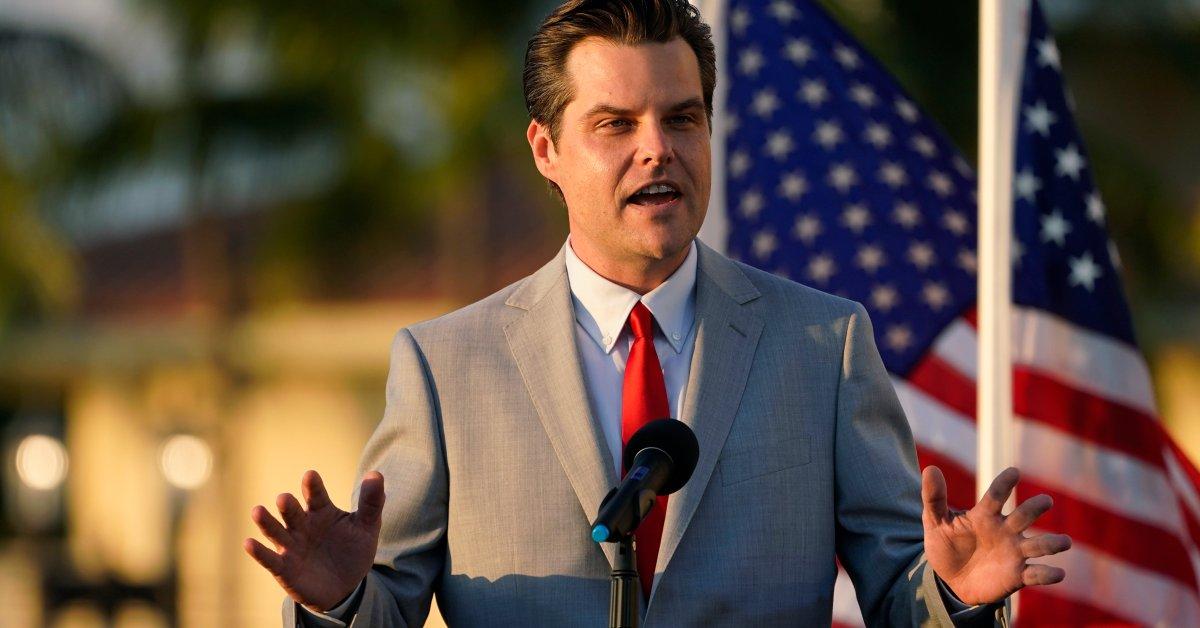 Rep. Matt Gaetz Menghadapi Pemeriksaan Etika Rumah saat Investigasi Federal Meluas