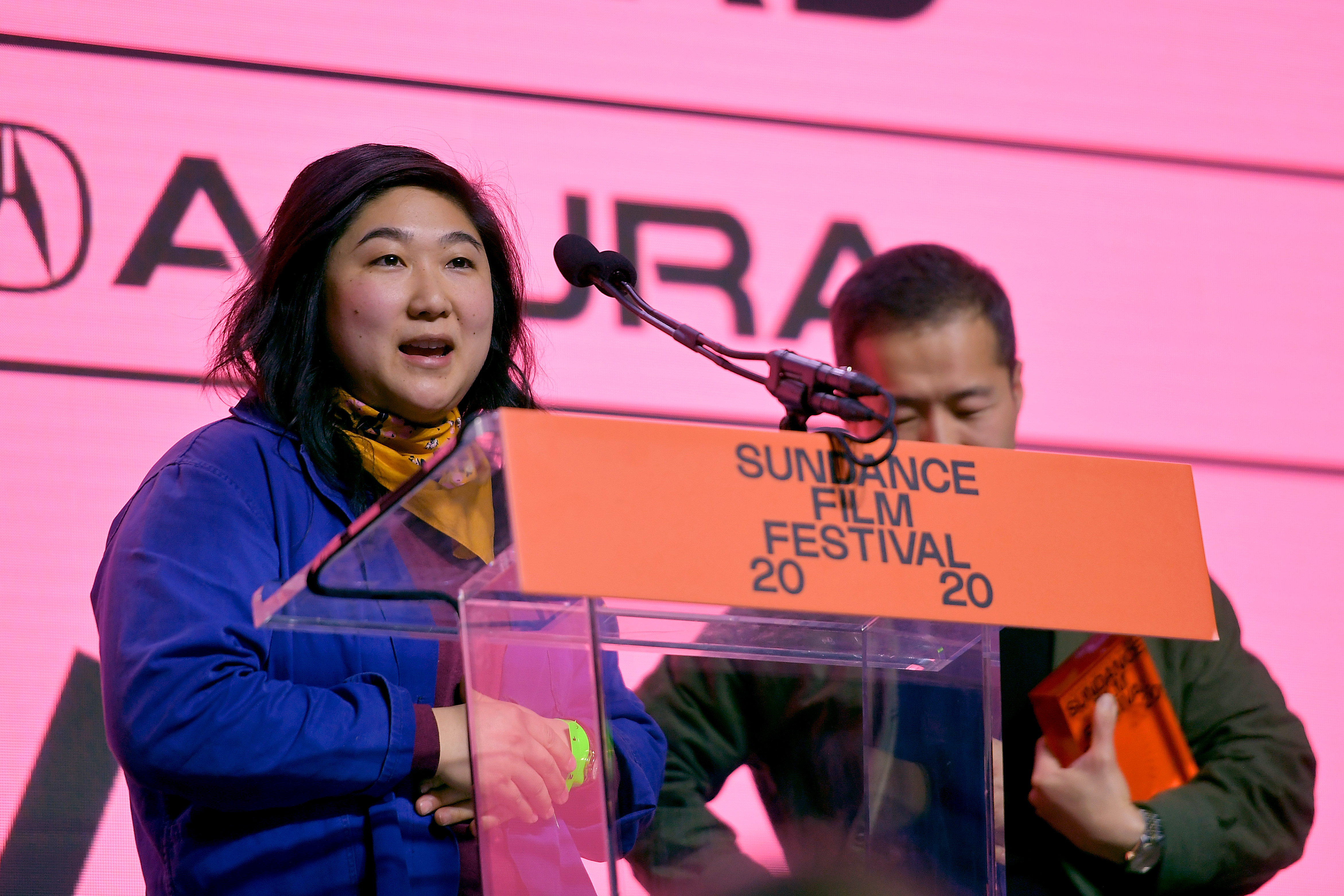 Christina Oh at the 2020 Sundance Film Festival Awards Night Ceremony