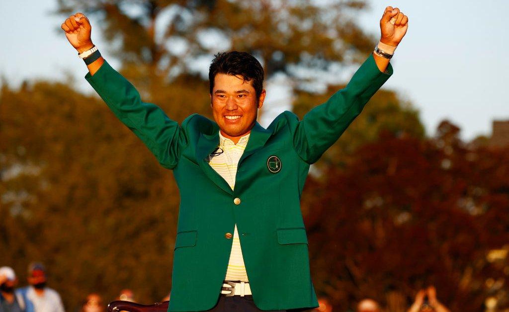 Perdana Menteri Jepang Memimpin Perayaan Kemenangan Master Historis Hideki Matsuyama