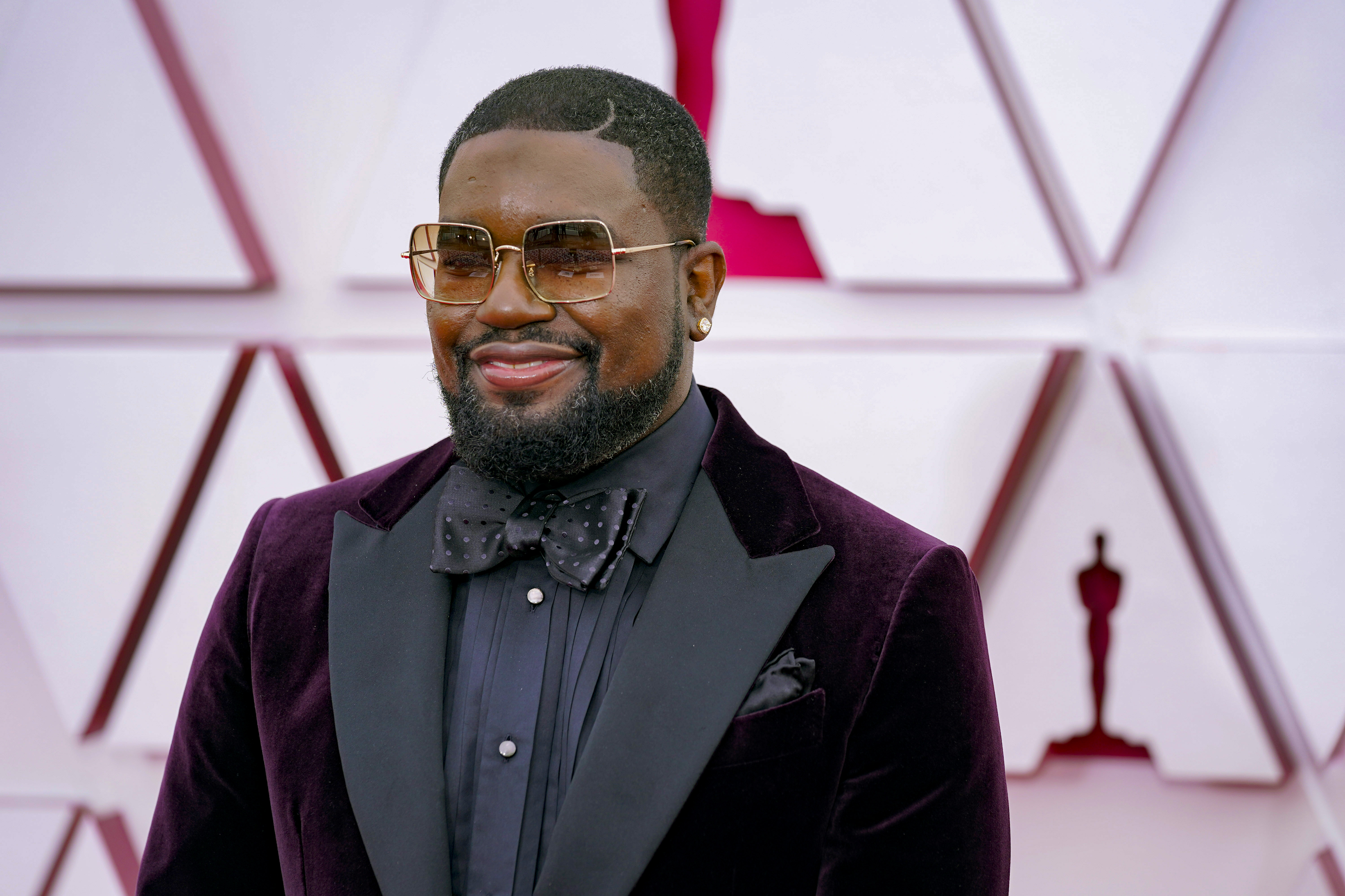 Lil Rel Howery at the 93rd Annual Academy Awards at Union Station on April 25, 2021