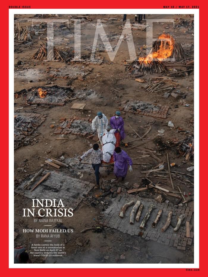 India Covid Time Magazine cover