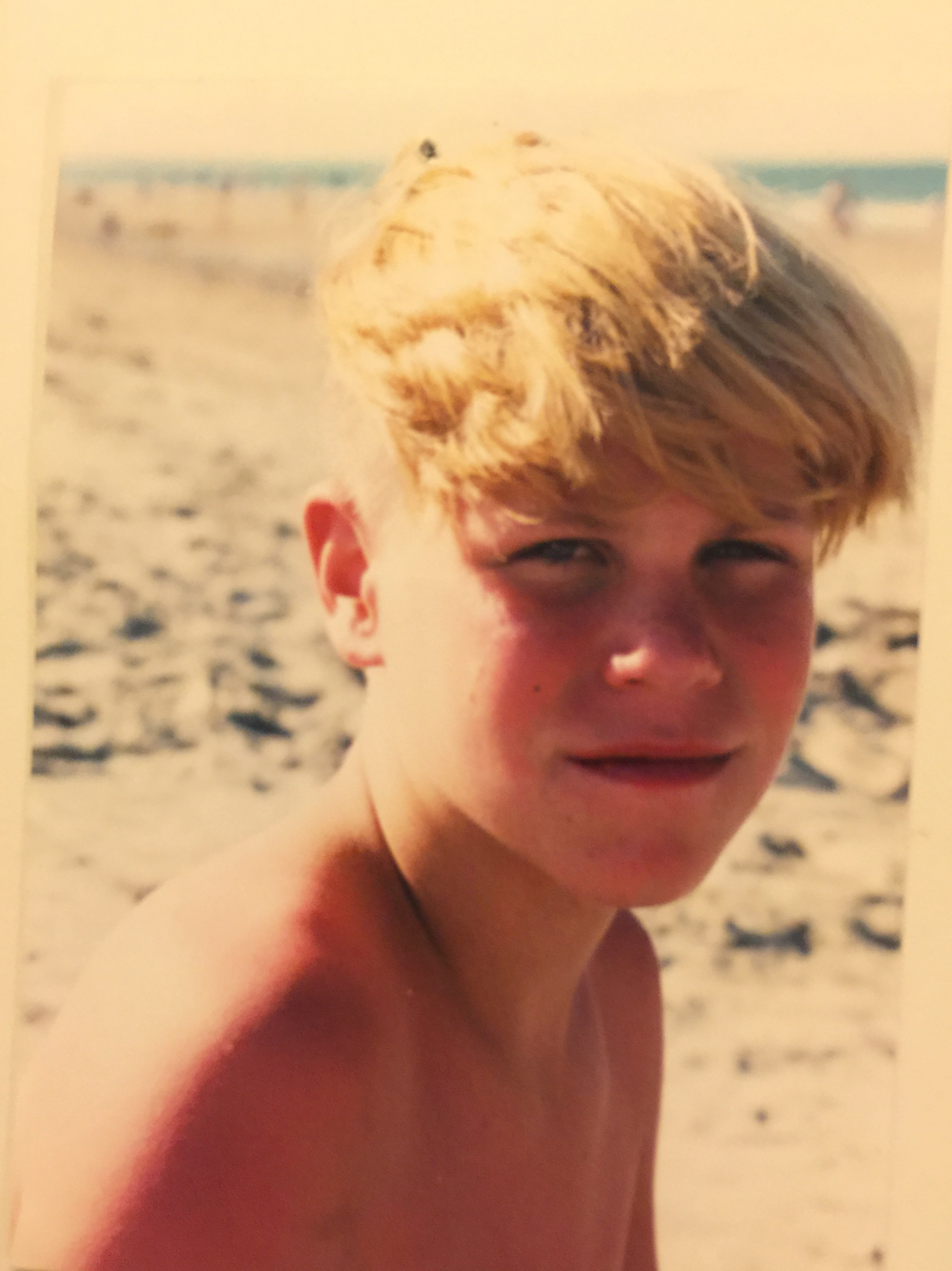 Billy at age 13