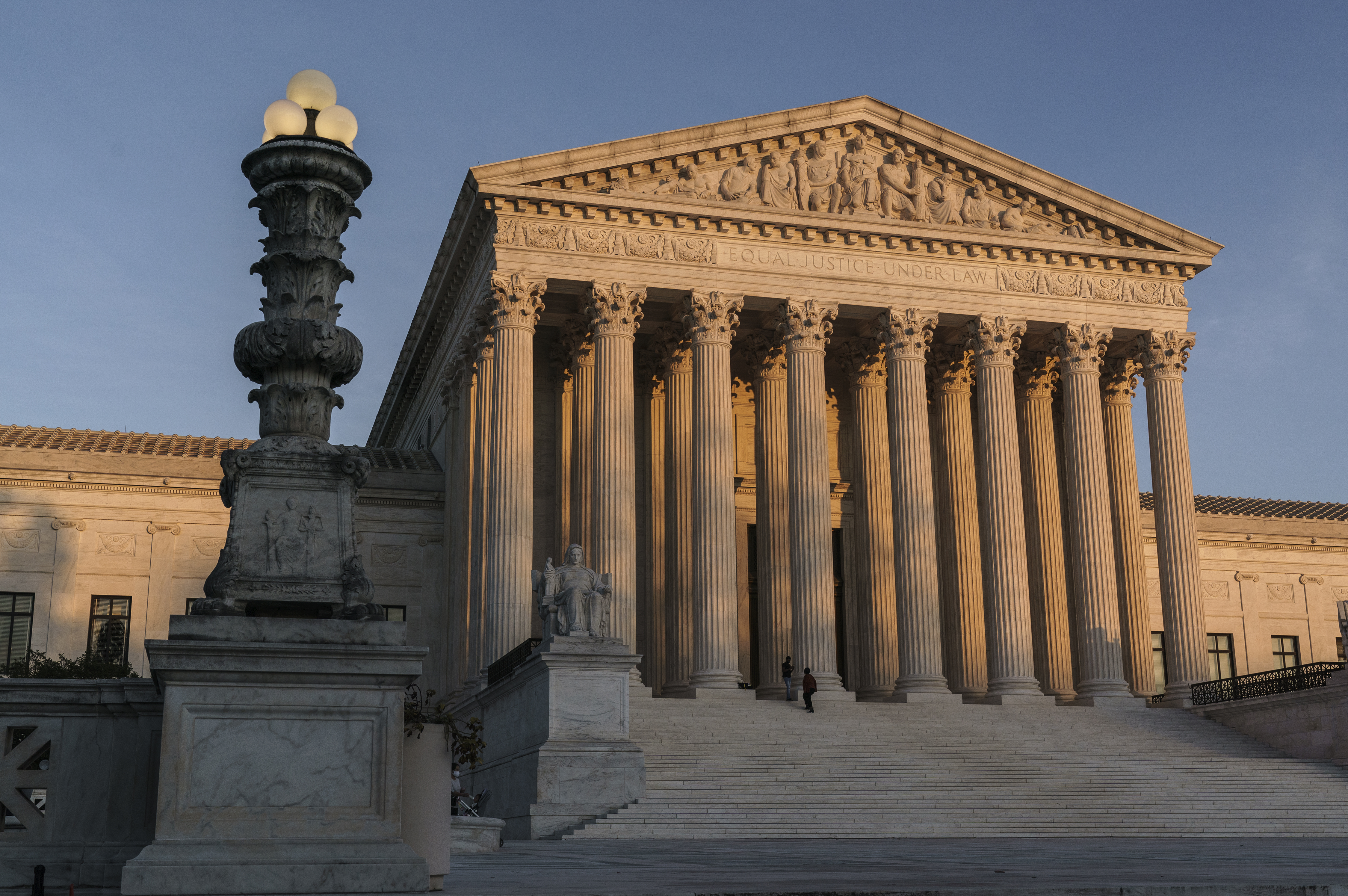 The Supreme Court is seen in Washington, D.C. on Nov. 6, 2020.