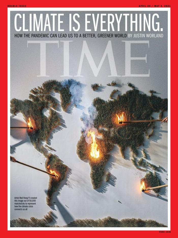 Climate is Everything Time Magazine Cover