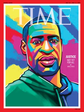 George Floyd Time Magazine Cover