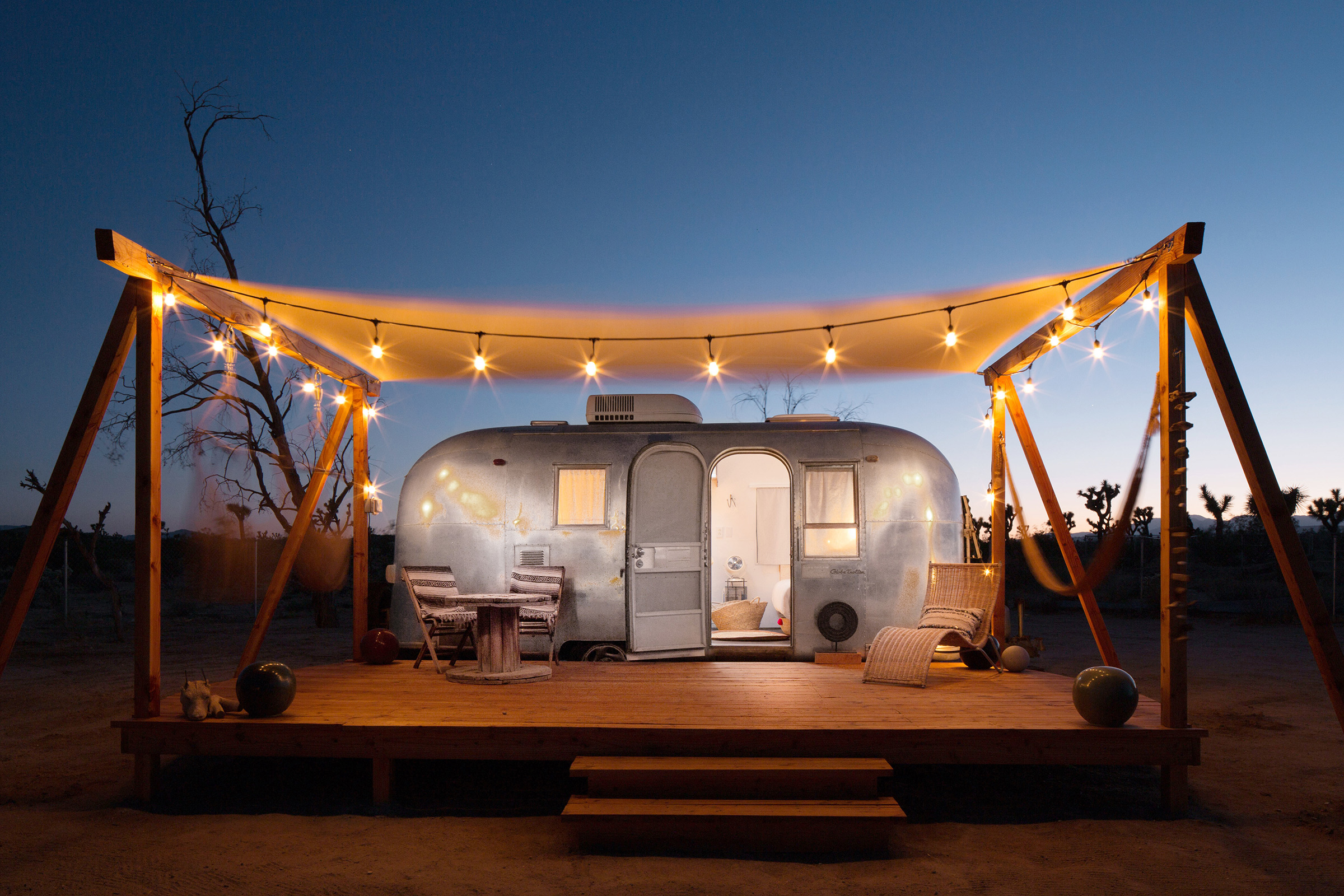 A home available on Airbnb in Joshua Tree, Calif.