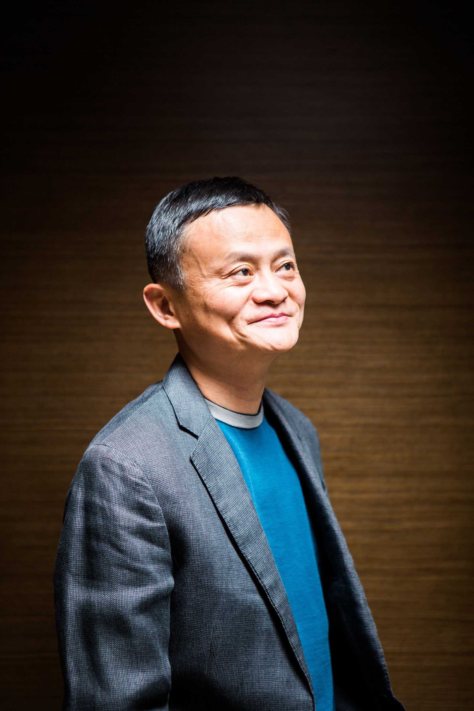 Jack Ma, founder of Alibaba Group, at the company's headquarters in Hangzhou, China, in March 2017.