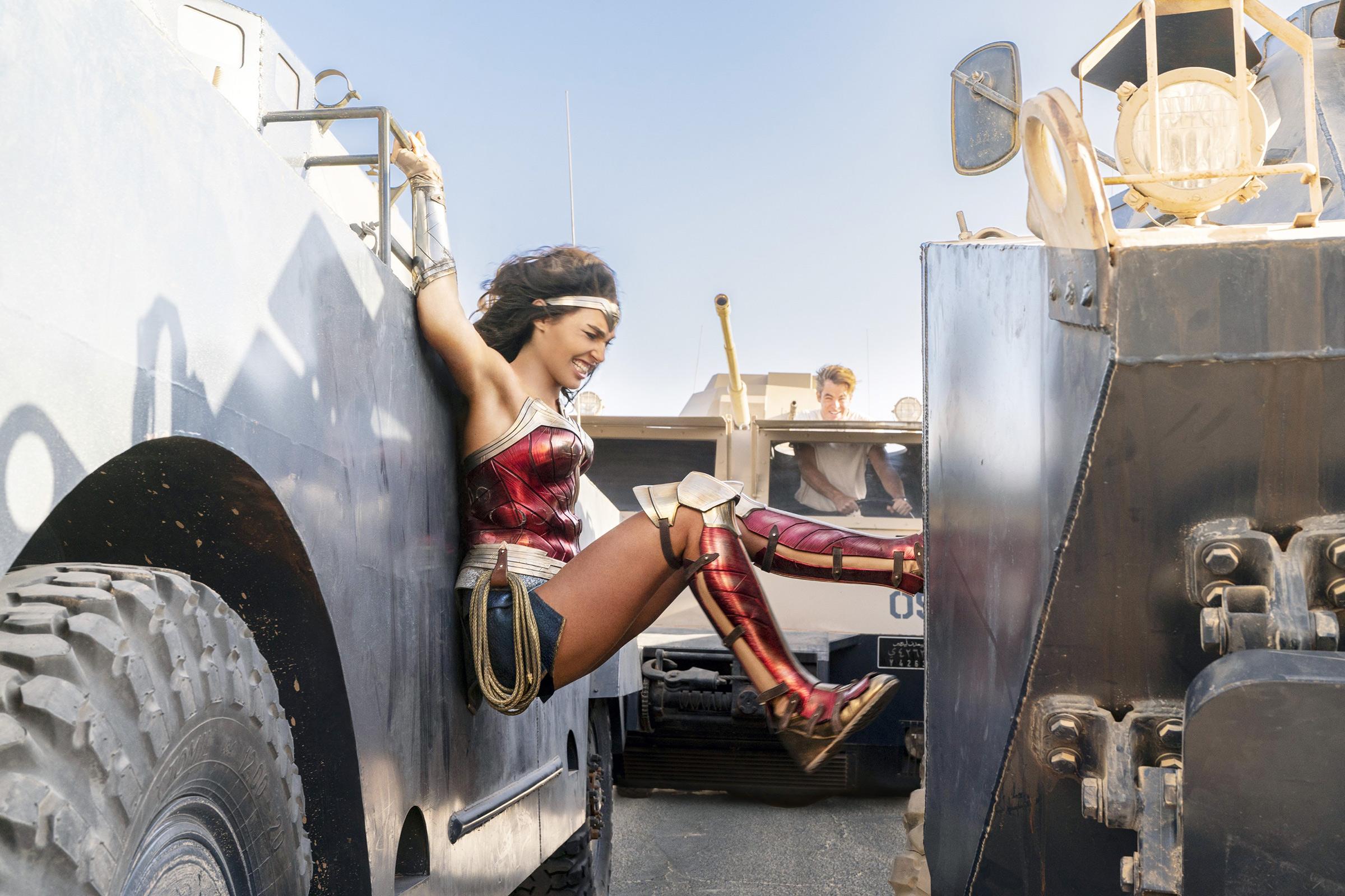 A still from  Wonder Woman 1984  (2020).