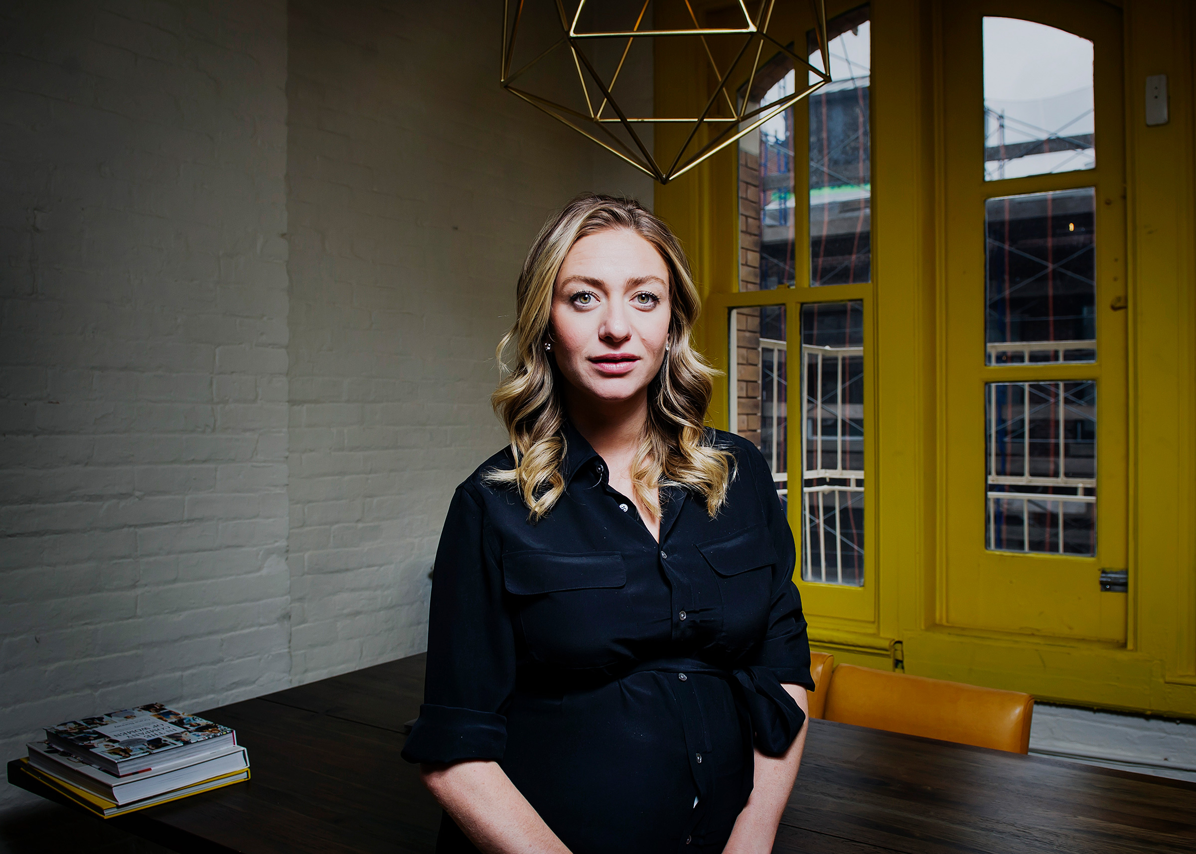 Bumble founder, Whitney Wolfe Herd, photographed in her offices in Soho, New York City in 2019.