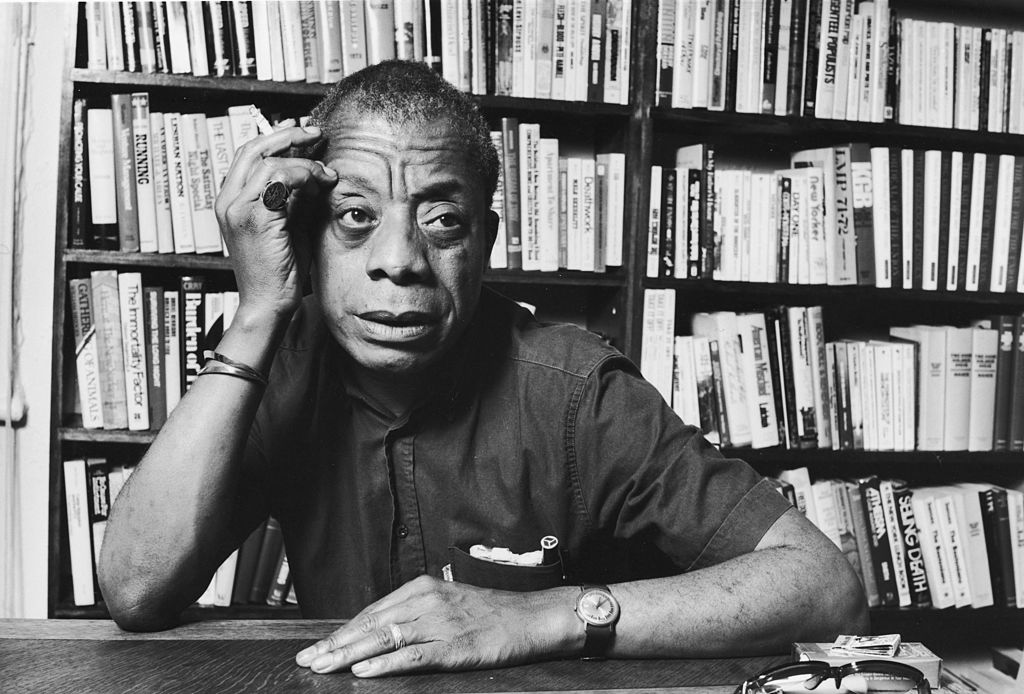 Novelist and essayist James Baldwin.