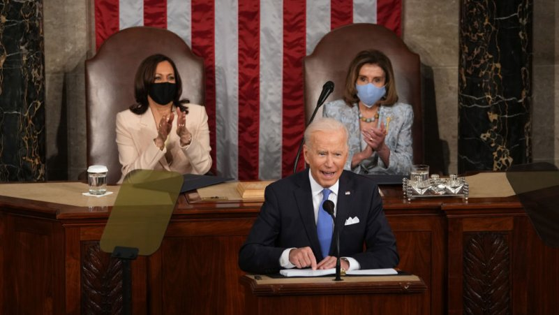 Joe Biden Delivers His First Major Presidential Speech