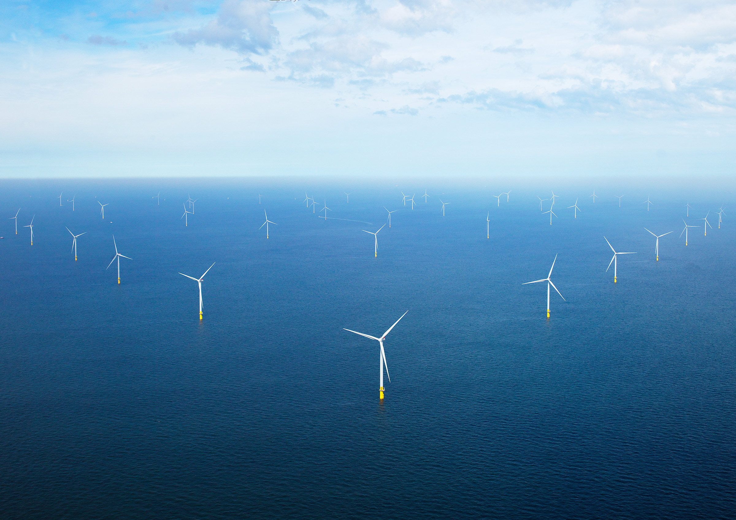 Orsted's offshore windfarm  Borssele 1 & 2,  located off the coast of the Dutch province of Zeeland.