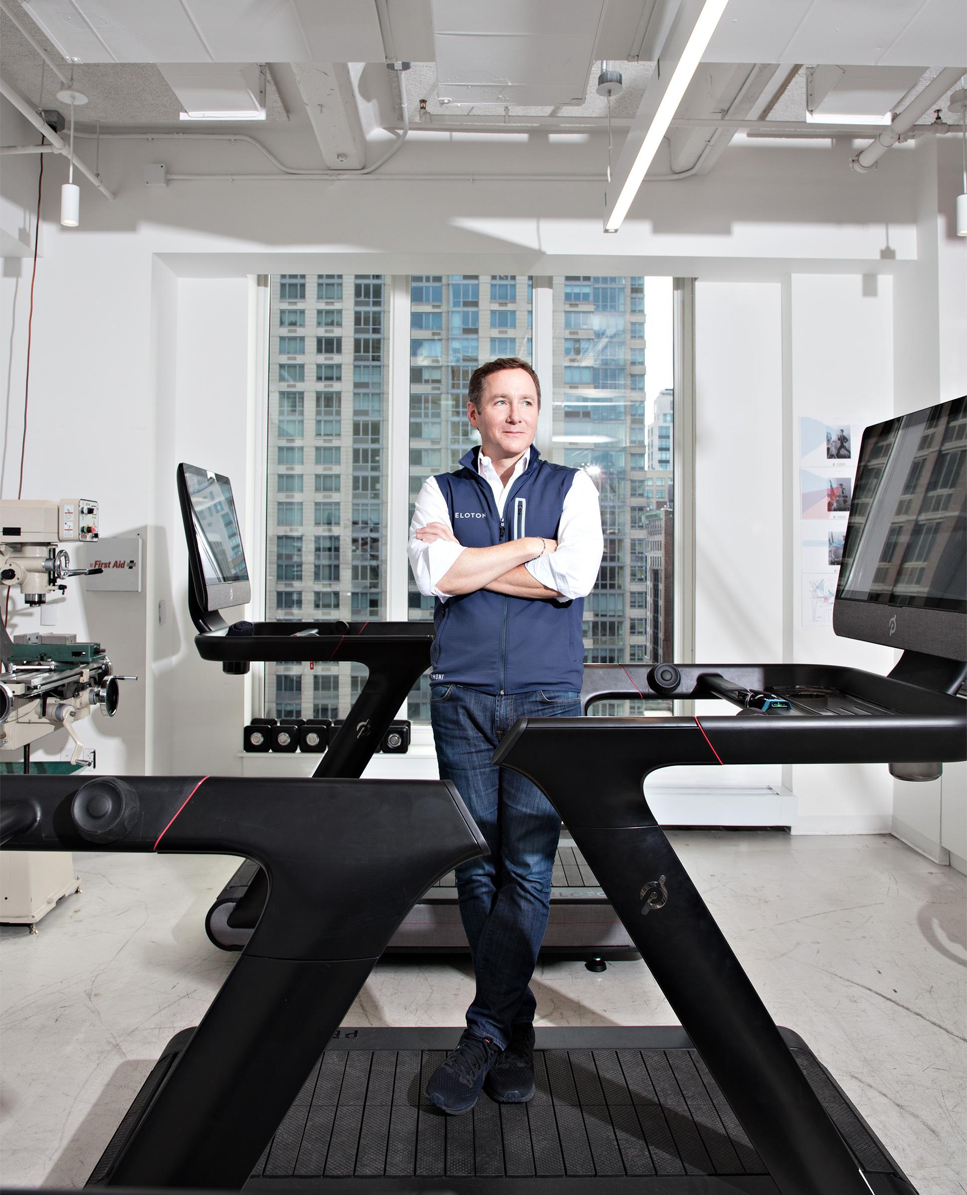 John Foley, CEO of Peloton