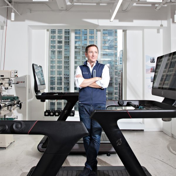 John Foley, CEO of Peloton