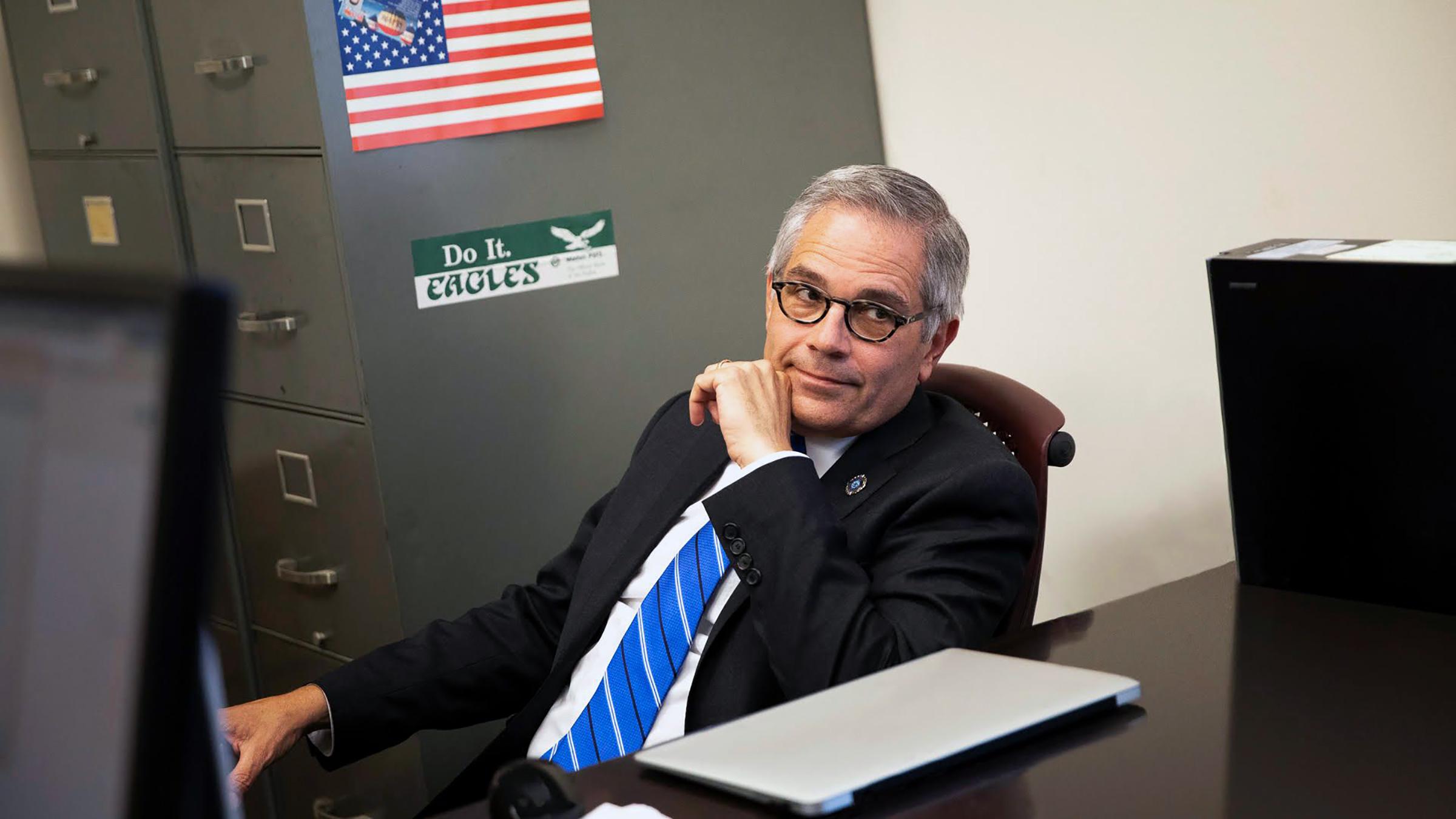 A documentary series about Philadelphia, Pennsylvania's progressive district attorney Larry Krasner.