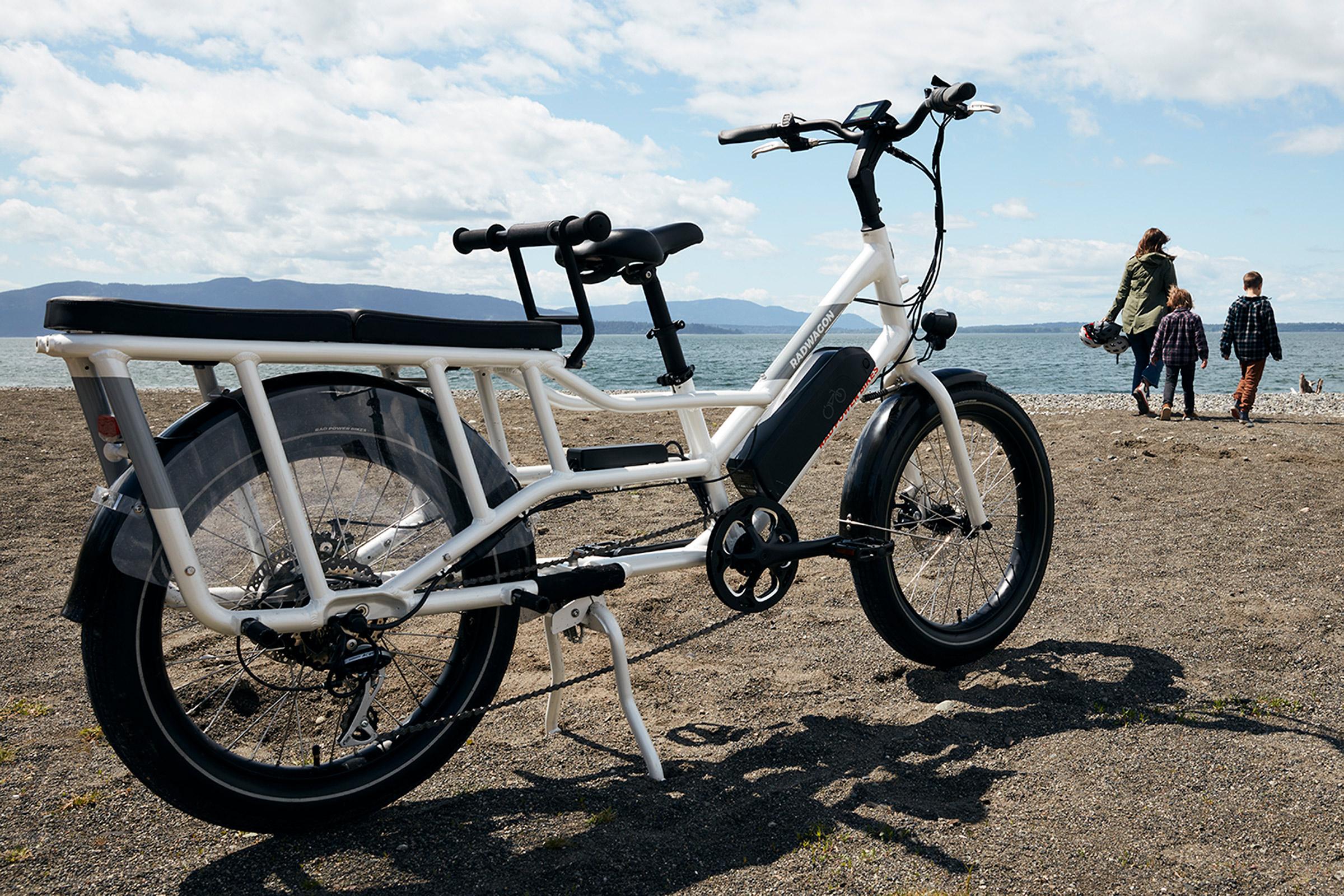 Rad Power Bikes's RadWagon 4 electric cargo bike.