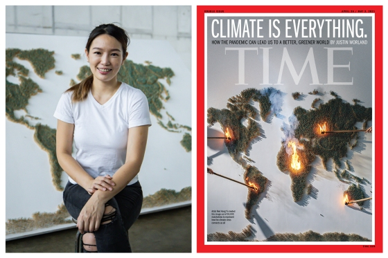 Red Hong Yi and TIME Climate is Everything cover