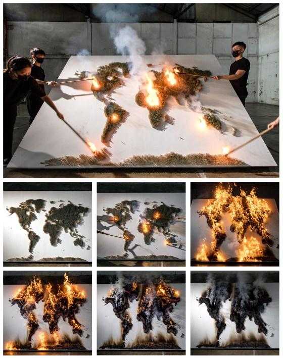 Red Hong Yi cover process