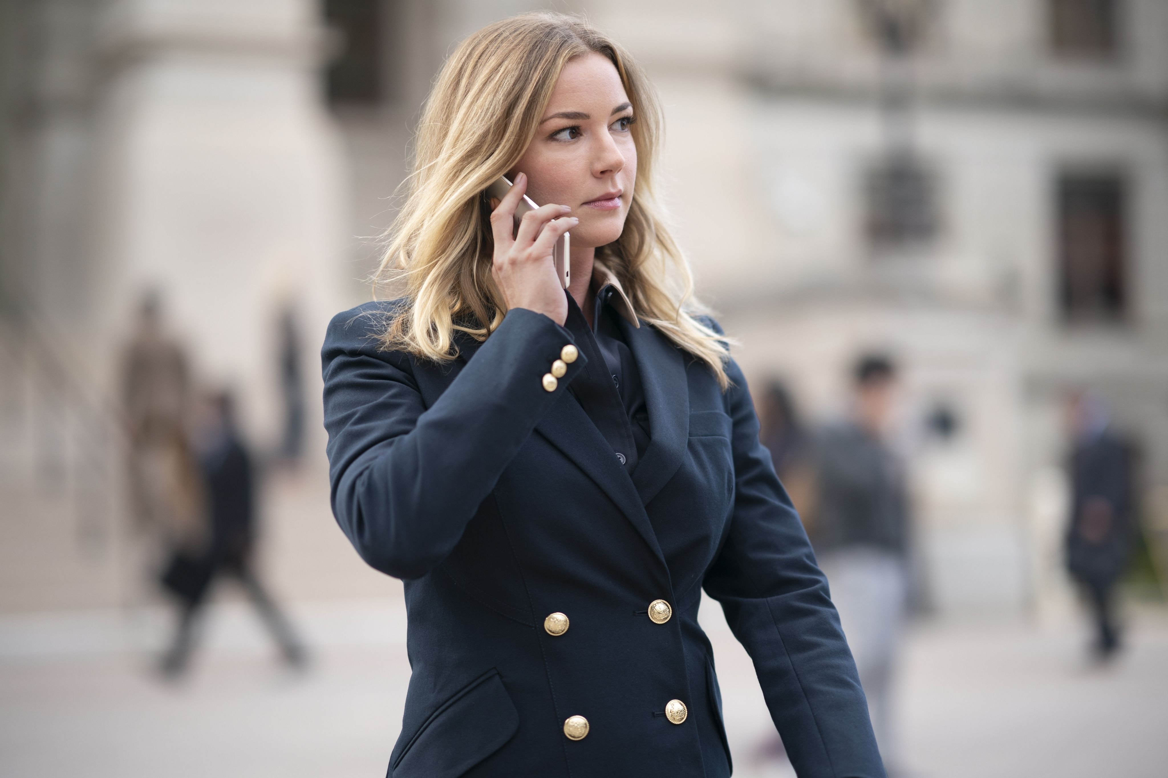 Emily VanCamp in Falcon and the Winter Soldier