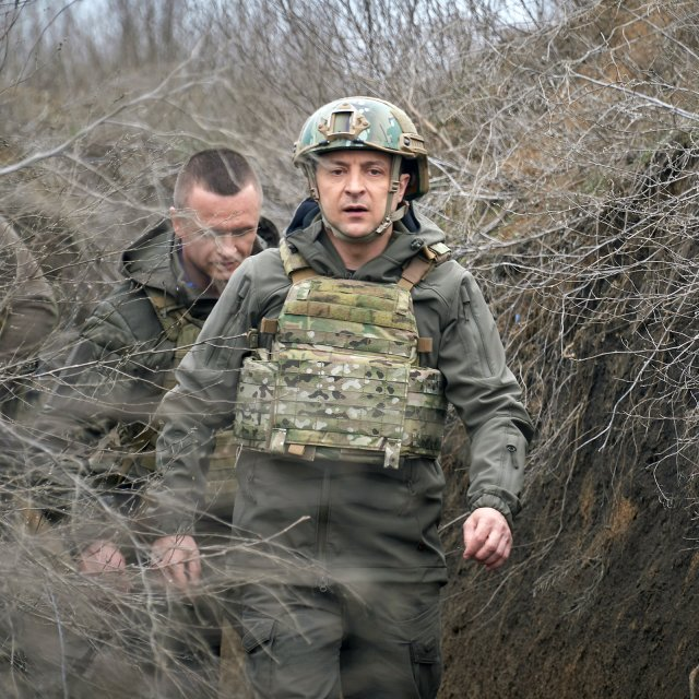 Ukraine's President on Why Russia Sent Troops to the Border