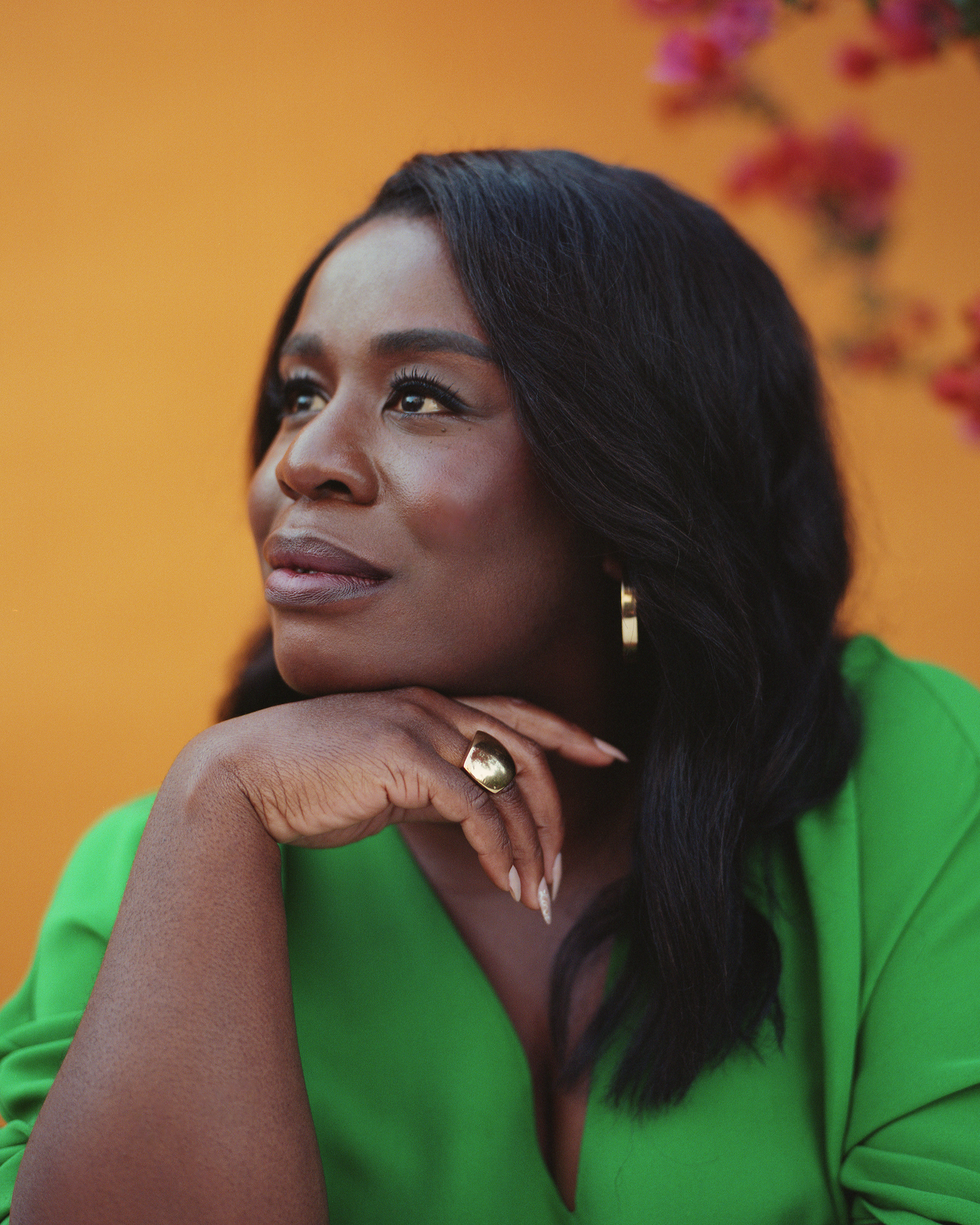 Actor Uzo Aduba opens up about grief, mental health and playing a psychologist in HBO's 'In Treatment.'