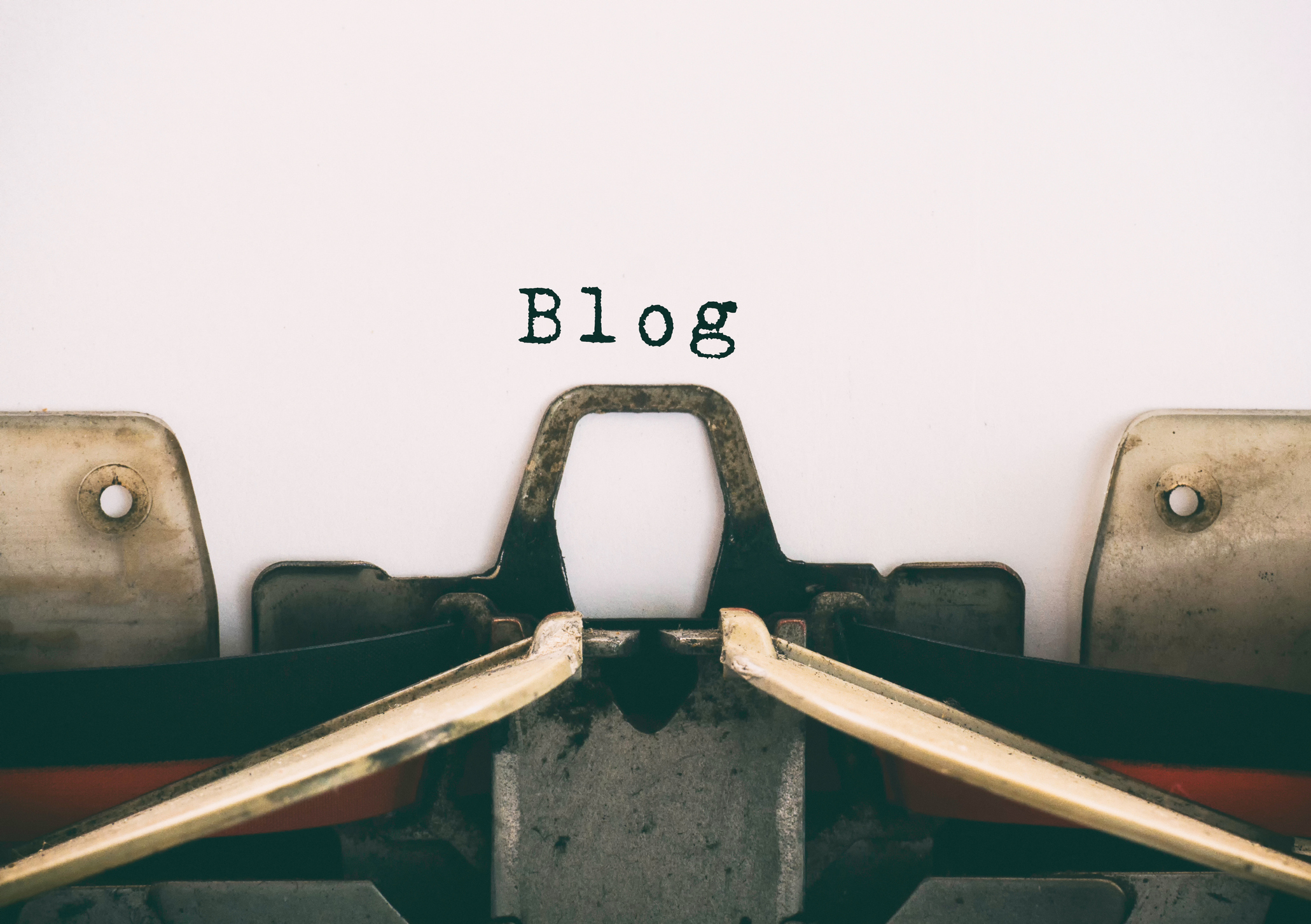 The history of words like 'blog' is humorous and comic