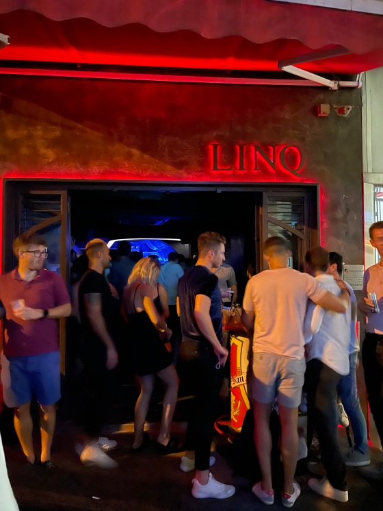 Linq Bar Hong Kong