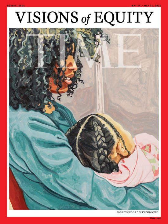 Vision of Equity Time Magazine Cover