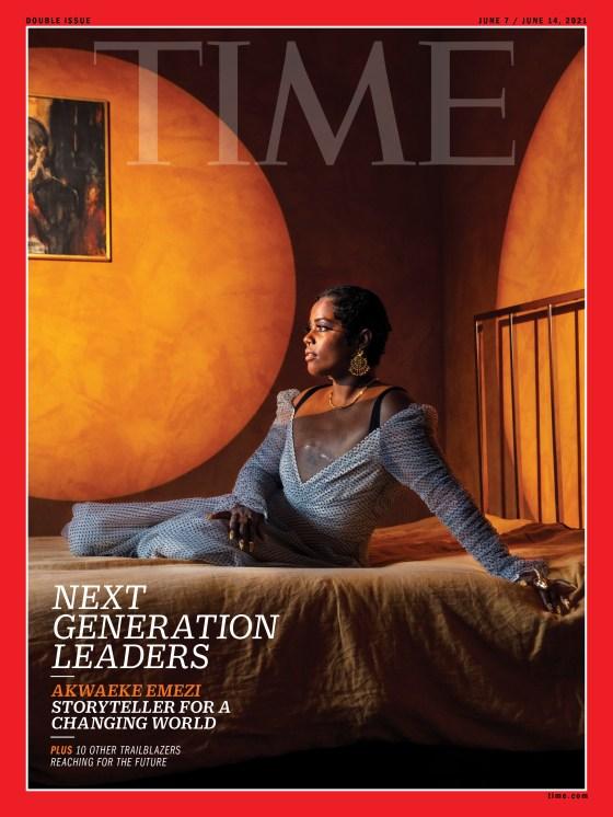 Akwaeke Emezi Next Generation Leader TIME Magazine cover