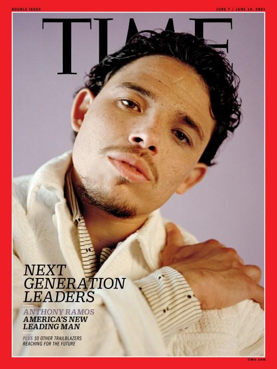 Anthony Ramos Next Generation Leader TIME Magazine cover