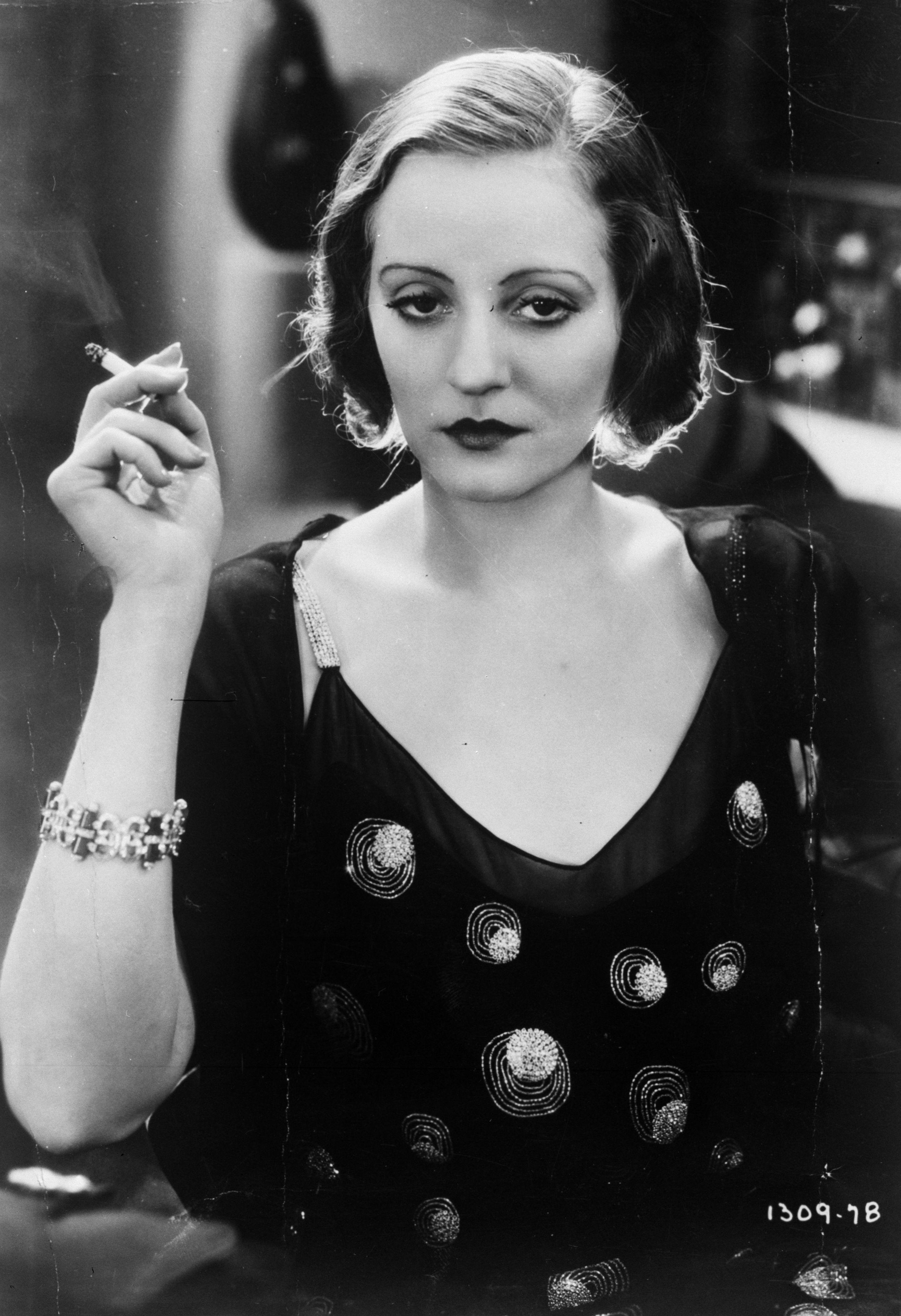 Tallulah Bankhead was said to partially inspire the animated version of Cruella de Vil.