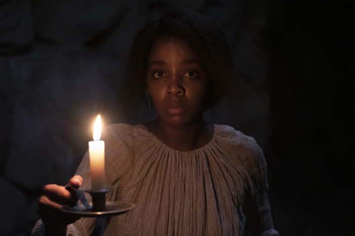 Thuso Mbedu as Cora in the TV adaptation of Whitehead's 'The Underground Railroad'