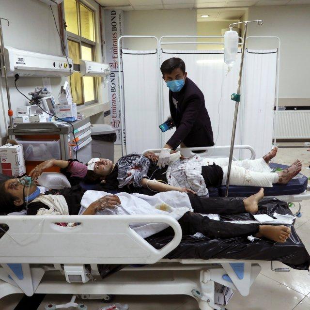 Bomb Kills at Least 30 Near Afghanistan School
