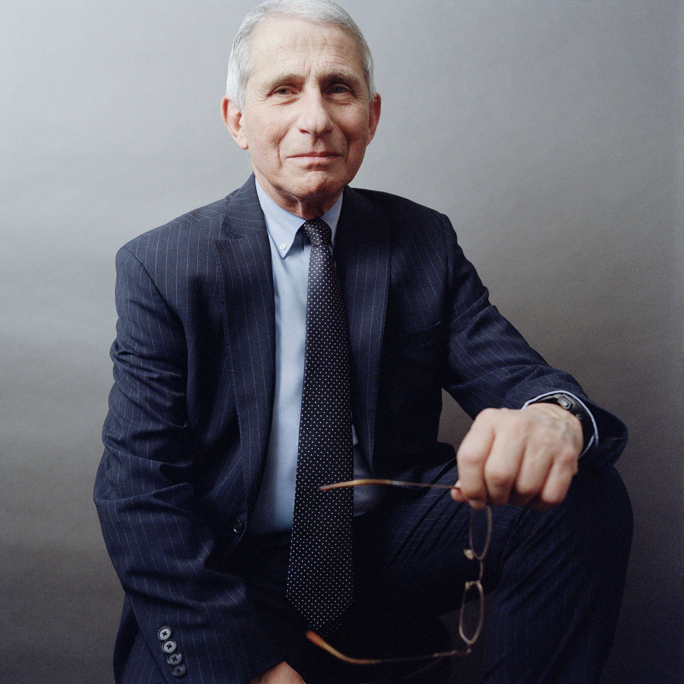 Dr. Anthony Fauci, photographed in Bethesda,Md., onDec.4, 2020.